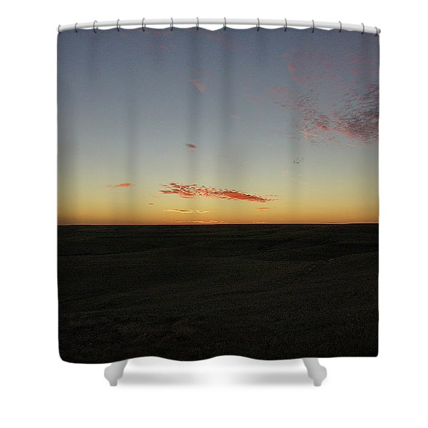 Flint Hills Dusk Shower Curtain