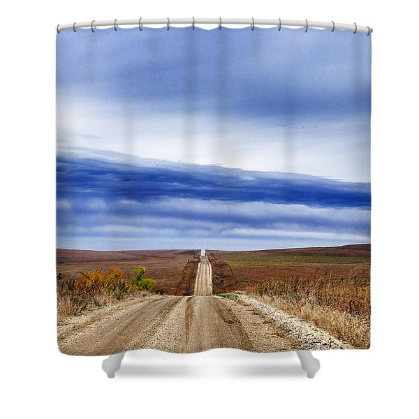 Flint Hills Rollers Shower Curtain