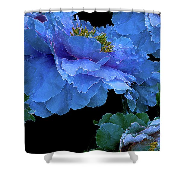 Floating Bouquet 14 Shower Curtain