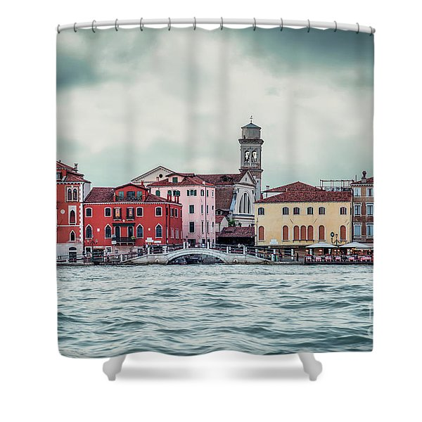 Floating Melody Shower Curtain