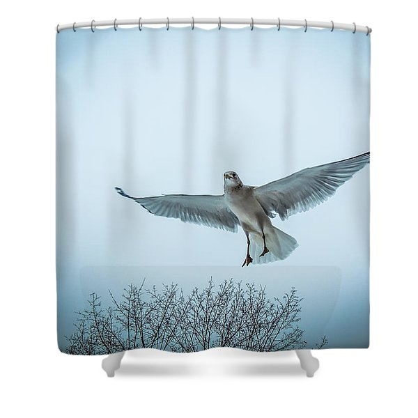Floating On Hope  Shower Curtain