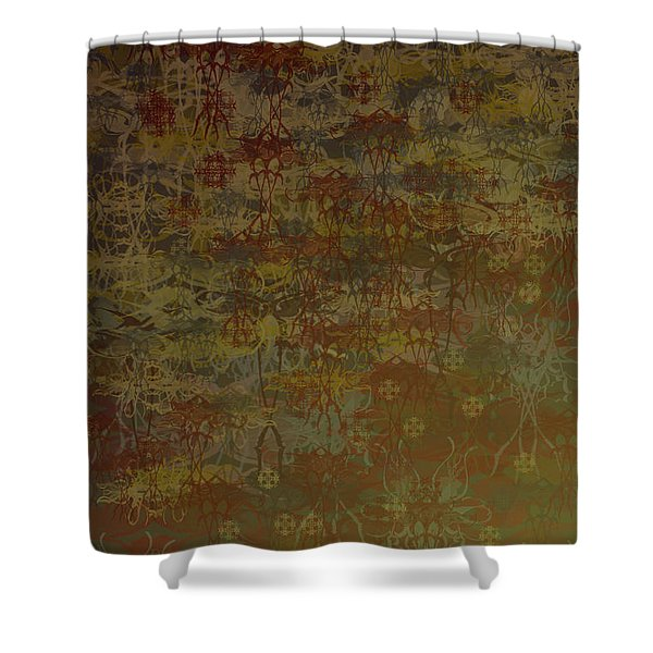 Floating Zen Shower Curtain