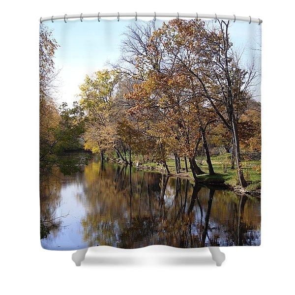 Flood Plain Shower Curtain