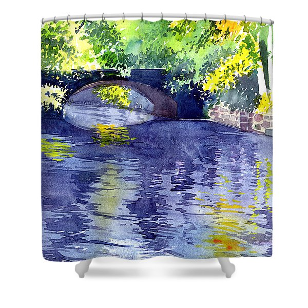 Floods Shower Curtain