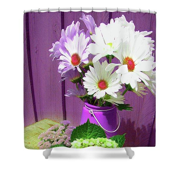 Floral Art 335 Shower Curtain