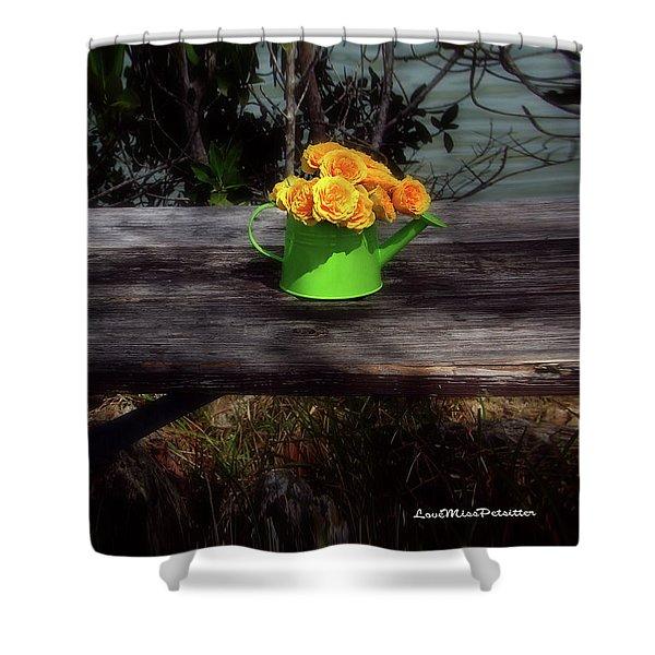 Floral Art 4 Shower Curtain