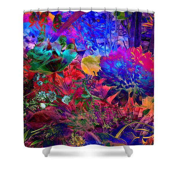 Shower Curtain featuring the photograph Floral Dream Of Summer by Silva Wischeropp
