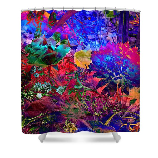Floral Dream Of Summer Shower Curtain
