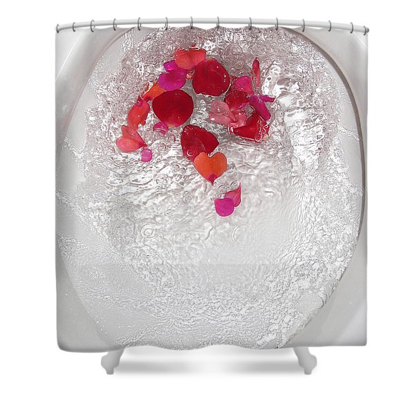Floral Flush Shower Curtain
