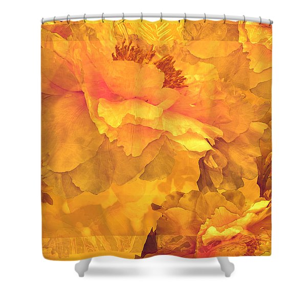 Floral Potpourri With Peonies 32 Shower Curtain