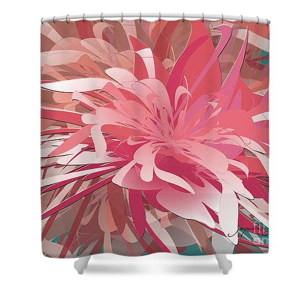 Floral Profusion Shower Curtain