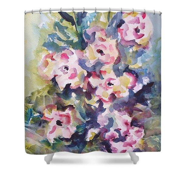 Floral Rhythm Shower Curtain