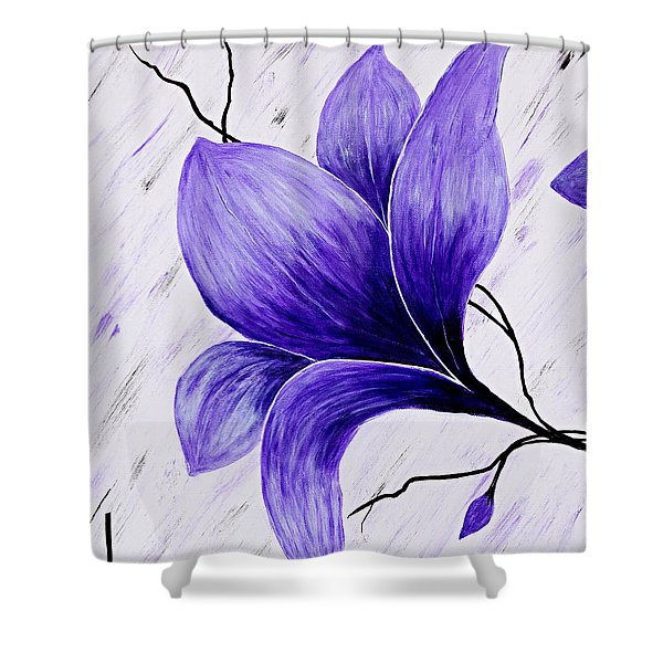 Floral Slumber Shower Curtain