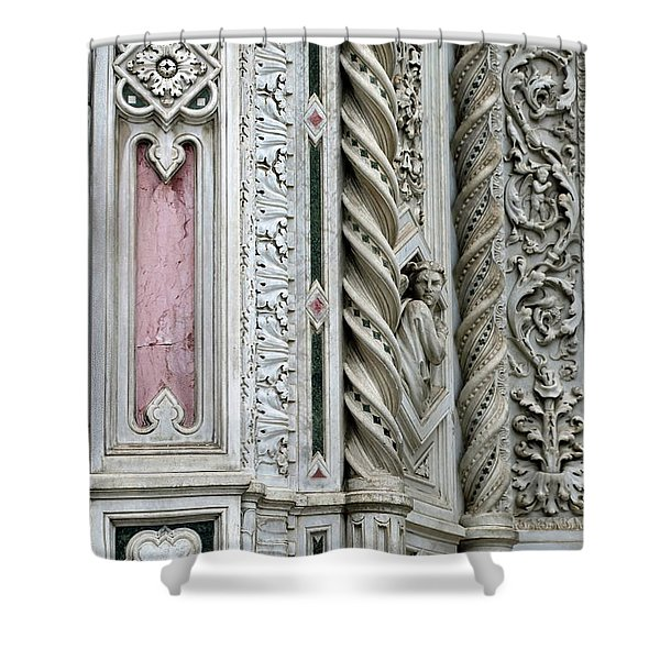 Florence Angel Shower Curtain
