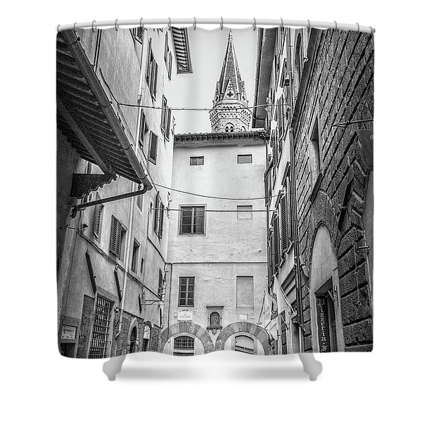 Florence Street Shower Curtain