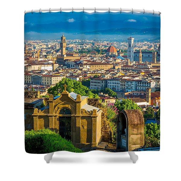 Florentine Vista Shower Curtain