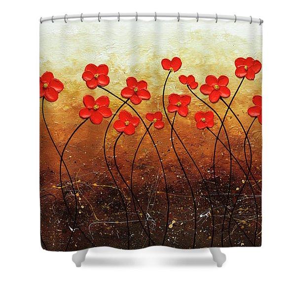Flores De Mi Jardin Shower Curtain