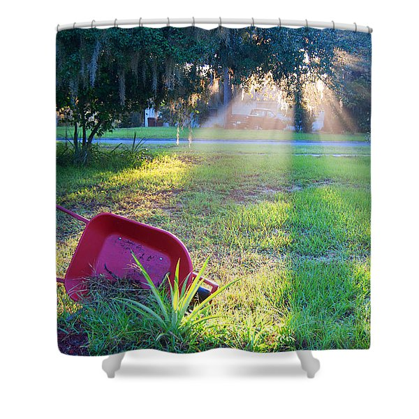 Florida Home Shower Curtain