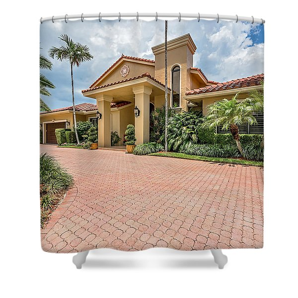 Florida Home Shower Curtain