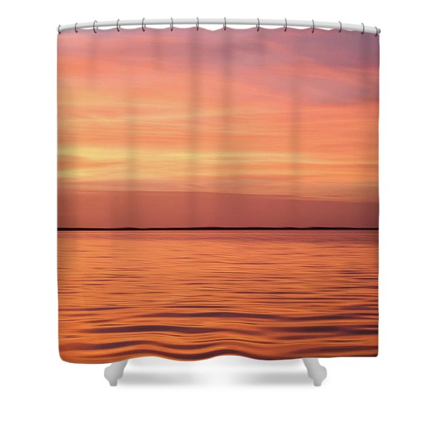 Florida Keys Sunset Impressions Shower Curtain