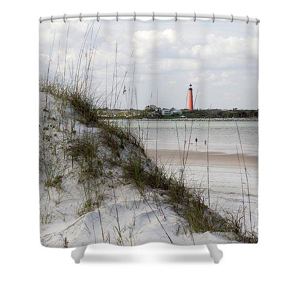Florida Lighthouse Shower Curtain