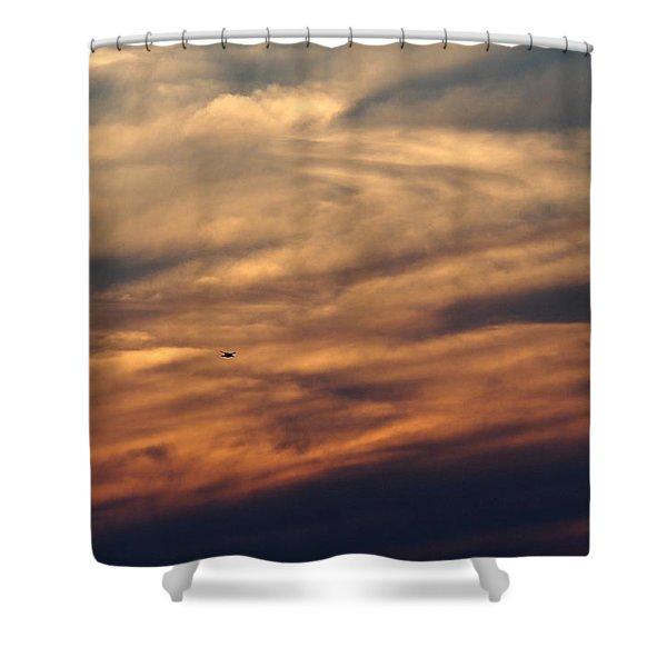 Florida Sunset 0052 Shower Curtain