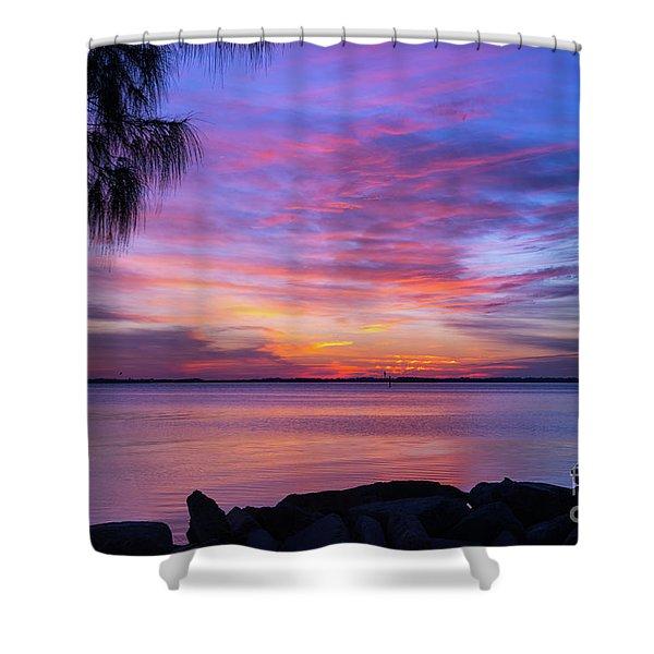 Florida Sunset #2 Shower Curtain