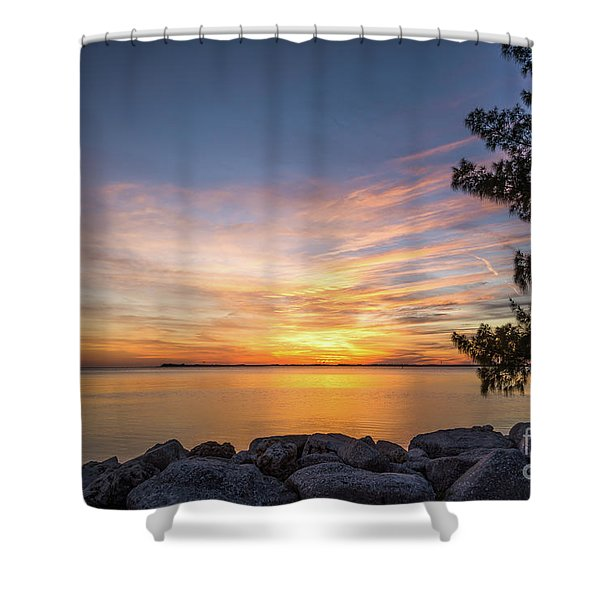 Florida Sunset #3 Shower Curtain