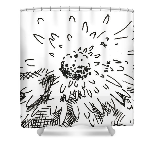 Flower 2 2015 - Aceo Shower Curtain