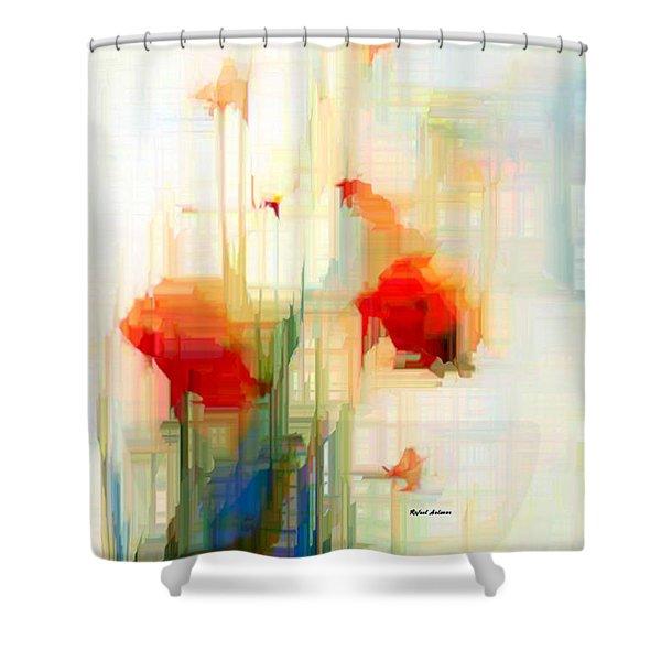 Flower 9230 Shower Curtain