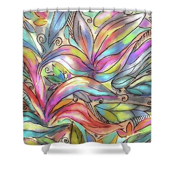 Flower Joy Shower Curtain