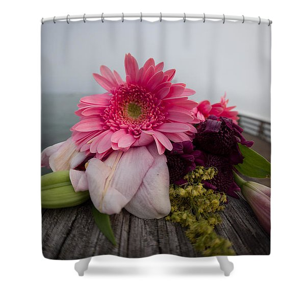 We All Die Sometime Shower Curtain