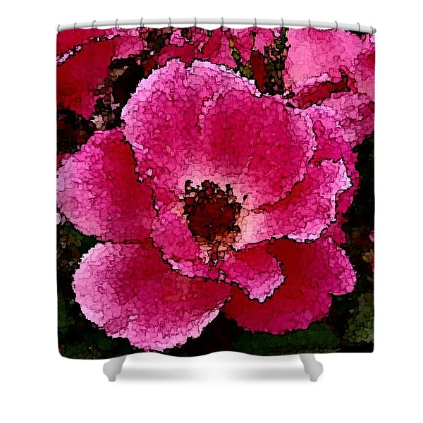 Flower Painting Collection 19 Shower Curtain