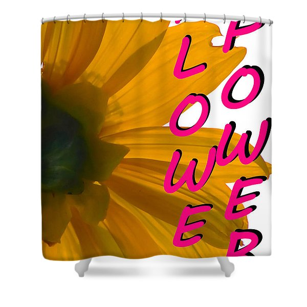 Flower Power Smart Phone Case Art Shower Curtain