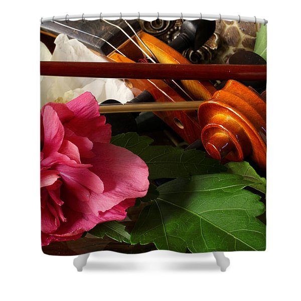 Flower Song Shower Curtain