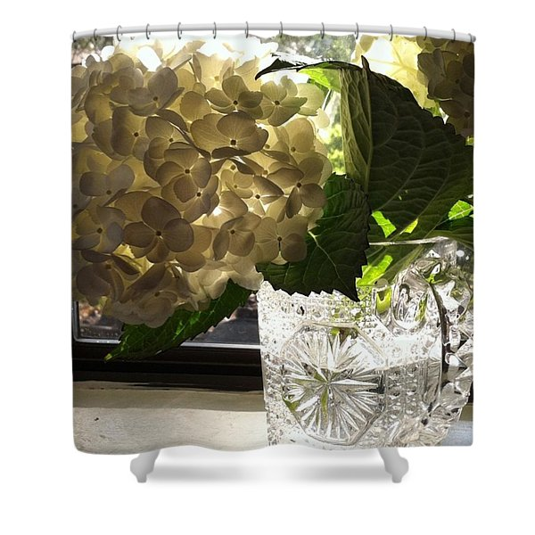 Flowers Always Inspire! Shower Curtain