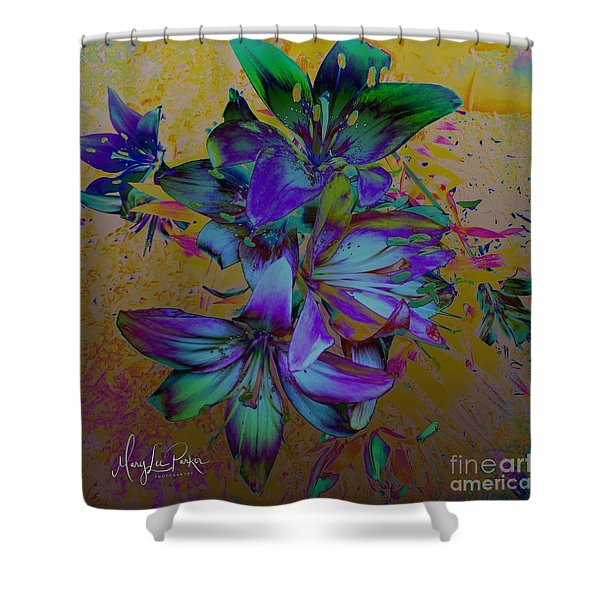 Flowers For The Heart Shower Curtain