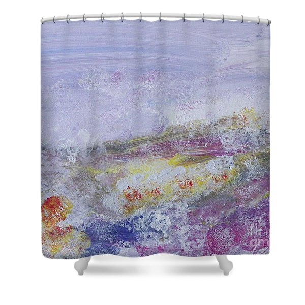 Flowers In The Ether Shower Curtain