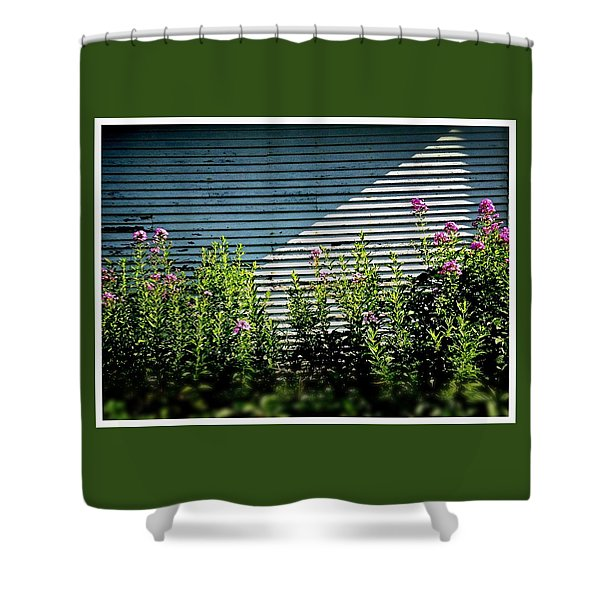Flowers Line-up Shower Curtain