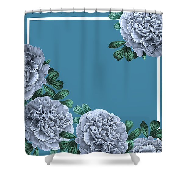 Flowers On A Summer Day Shower Curtain