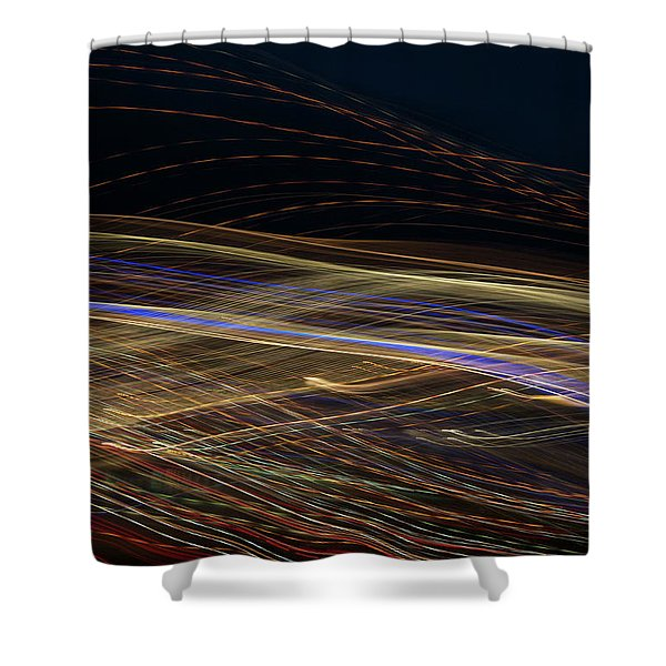 Shower Curtain featuring the photograph Flowing by Michael Lucarelli