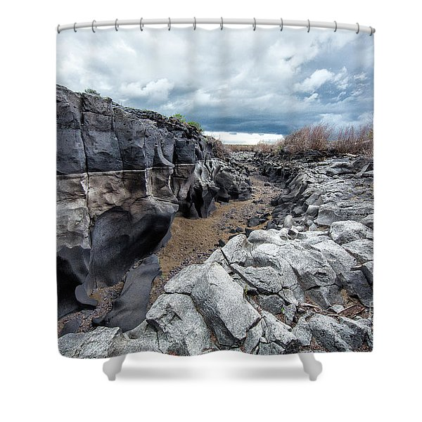 Flowing To The Storm Idaho Journey Landscape Art By Kaylyn Franks Shower Curtain