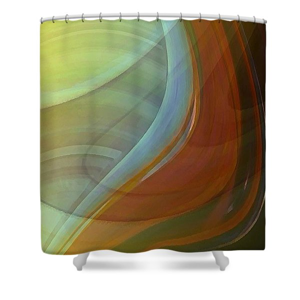Fluidity Shower Curtain