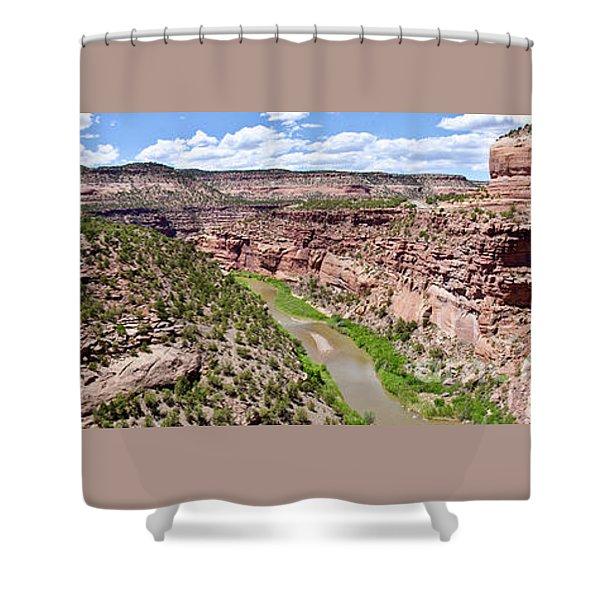 Flume Shower Curtain