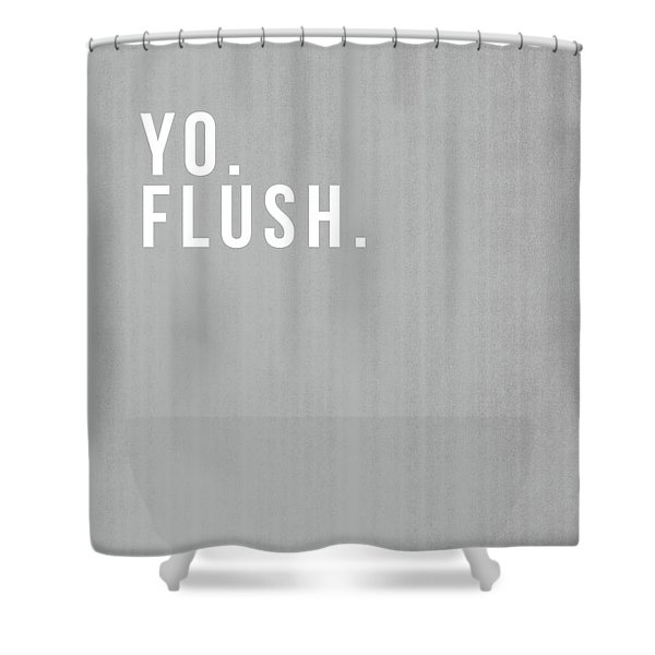 Flush- Art By Linda Woods Shower Curtain