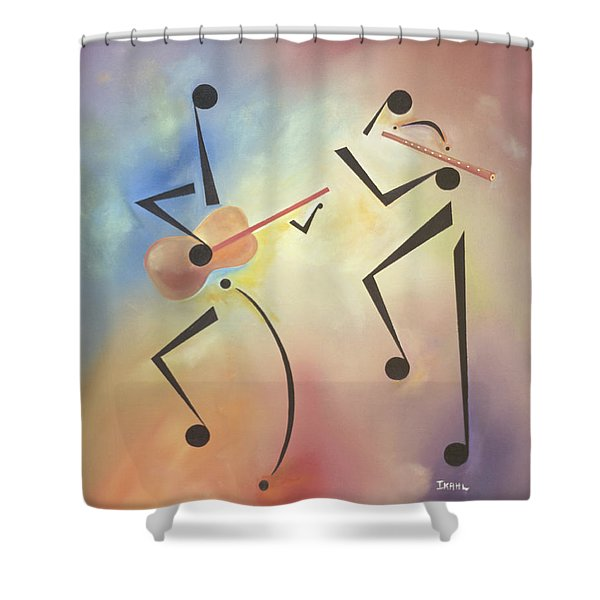 Flutina Shower Curtain