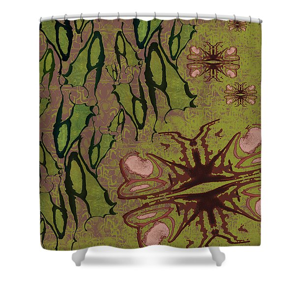 Flutter By Pods Shower Curtain