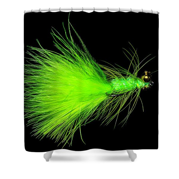 Fly-fishing 2 Shower Curtain