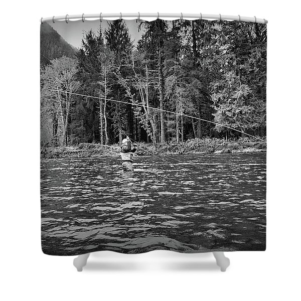 Fly On The Swing Shower Curtain