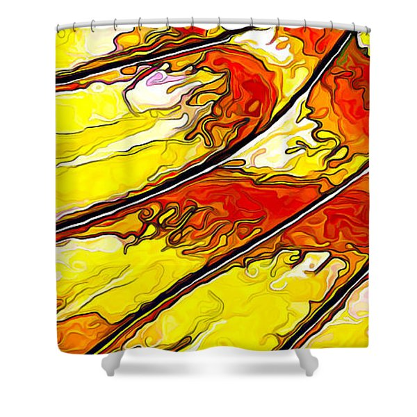 Flying Away... Shower Curtain